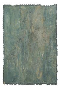 Carton peint, 150 x 100 cm, années 1995-2000
