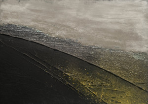 Pigments et liants acrylique sur toile, 24 x 35, 2015
