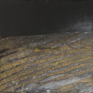Pigments et liants acrylique sur toile, 35 x 35, 2014