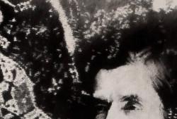 Sans titre, fusain sur papier marouflé, 115 x 115 cm, 2008
