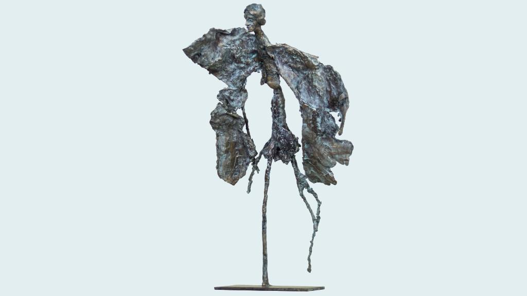 langenoir, bronze , pièce unique , H 50 cm 2014
